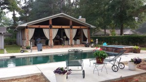 Pool House Addition Canton, MS