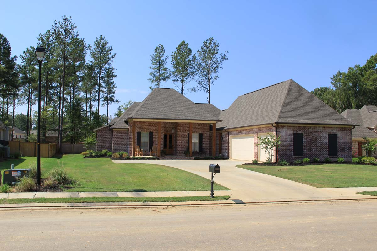 New custom home grayhawk madison ms tri county homes for Home builders jackson ms