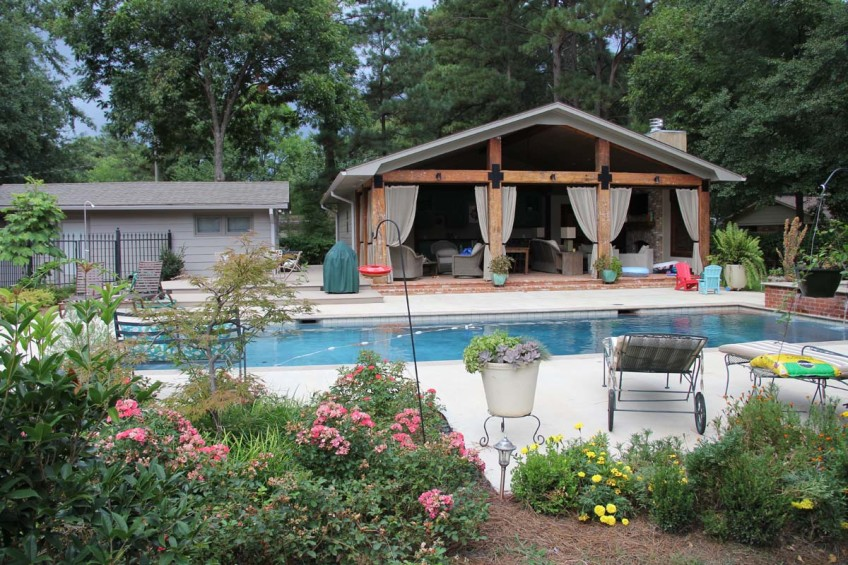 Pool House Construction Canton Mississippi